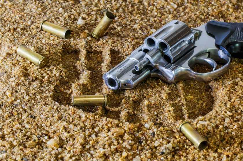 sand dangerous weapon gun