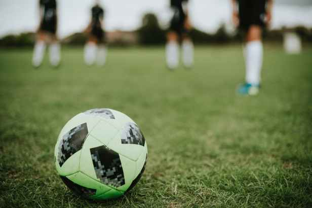 close up photo of a soccer ball